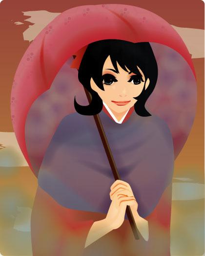 稲咲こけしsamaのオリキャラさん(文さん)