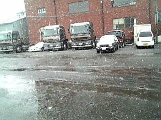 車乗ってたら雪は不安要素にしかならんね。