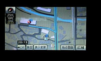 KURACHAN♪メタボbB(ブーブー)号、走行距離8888達成ナビ