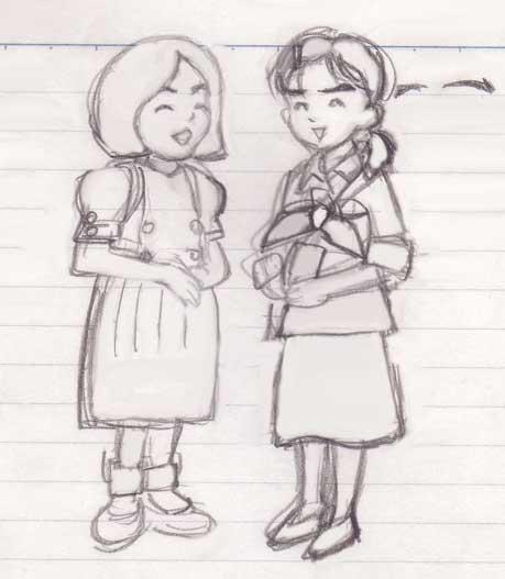 クッキとシニョンの子役・子供時代キムチョヨン パクチミ