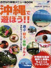 沖縄で遊ぼう!表紙