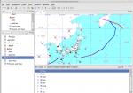 先日の天気図WMSを表示