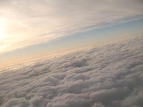 中層雲と下層雲
