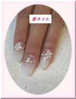 P1140705桜ネイル
