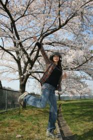 ☆片足上げたら桜のシンフォニー☆