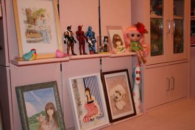 ☆淡いピンクなお部屋☆