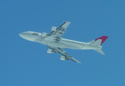 JALのB747