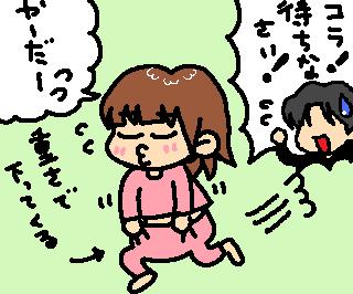 やぁだぁ~(;一_一)