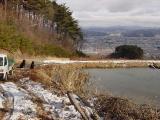 西側から見た池.JPG