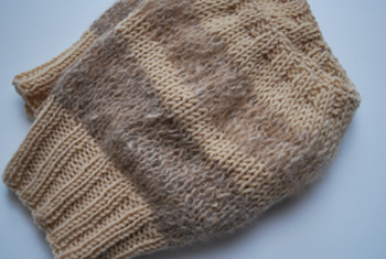 クーの毛糸