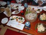 「蕨原おわて」の食事