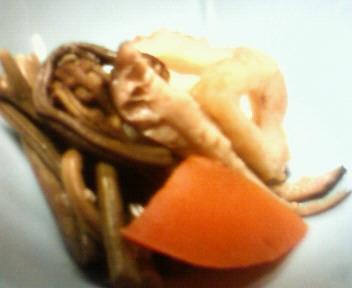 山菜と野菜の煮物