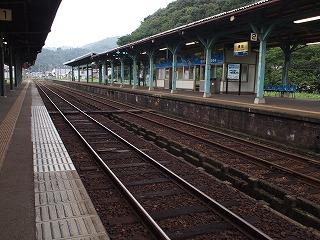 正しく「山陰本線」の駅