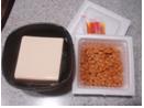3月10日豆腐と納豆