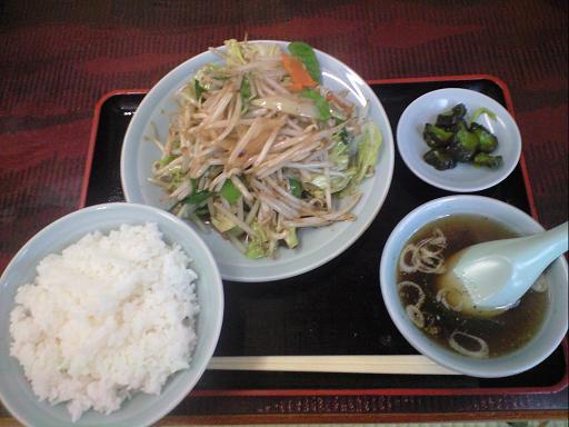 野菜炒め1