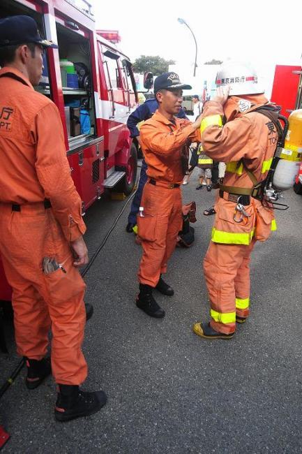 消防隊 052s