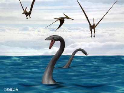 白亜紀の海