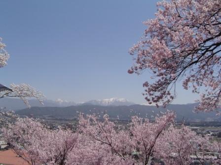 春日公園にて