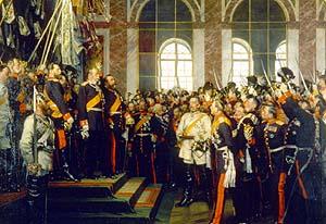ドイツ皇帝ウィルヘルム1世の戴冠式