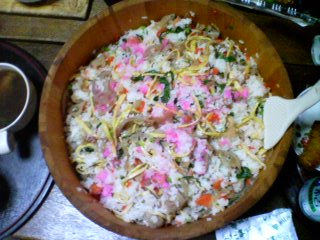 散らし寿司1