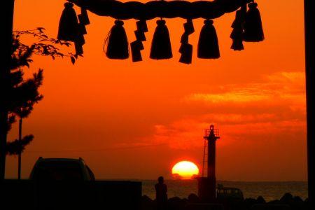 日の出 写真
