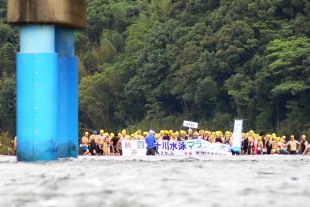 四万十川水泳マラソン
