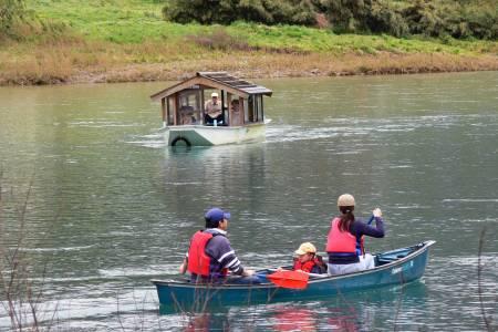 無料カヌー体験