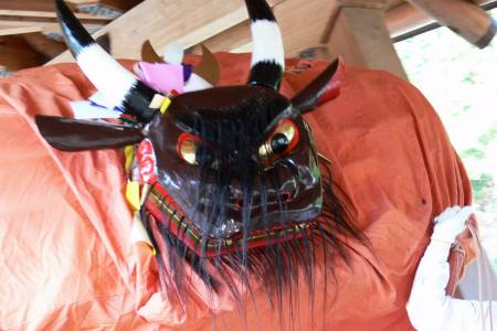 三嶋神社(東区)秋祭り 牛鬼