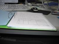 土地に関する登記申請書練習用紙2