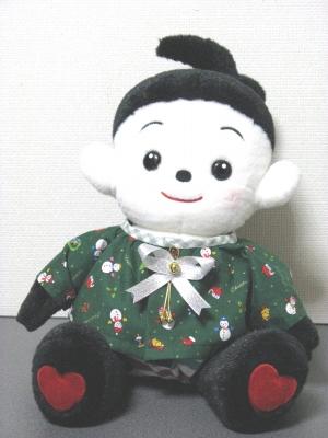 クリスマスの布地でプリモ服