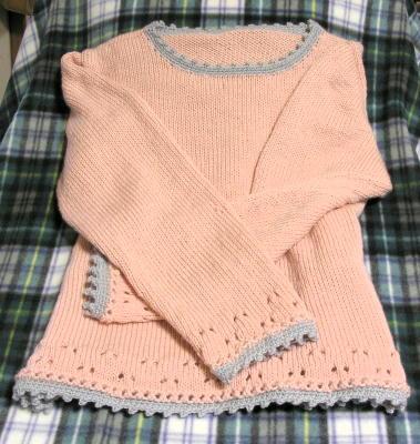 私のセーター
