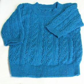 6分袖セーター