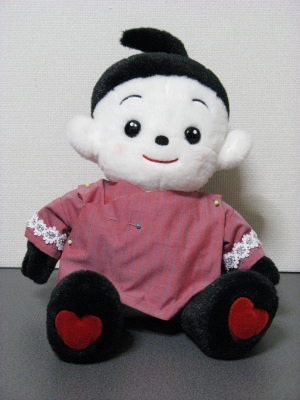 「さむぅ~い」プリモちゃんの仮縫い