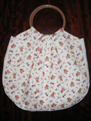 乙女チックな春らしいバッグが完成2