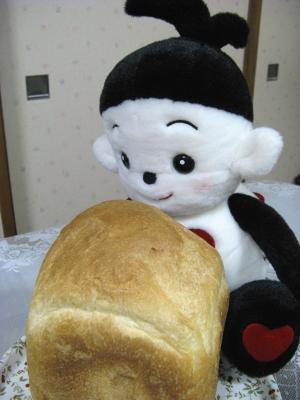 夕飯代わりに焼きたてのパン(;゜(エ)゜) アセアセ