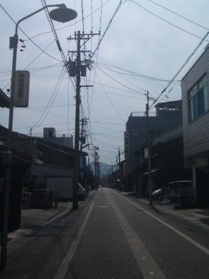 敦賀の町並み