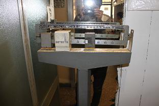 古風な体重計