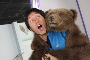 クマに襲われた