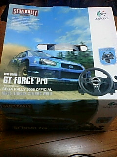 GT FORCE Pro SEGA RALLY 2006 OFFICIAL