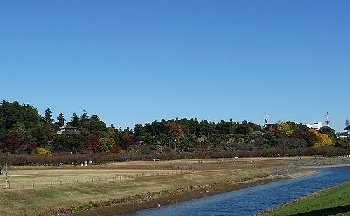 秋の偕楽園