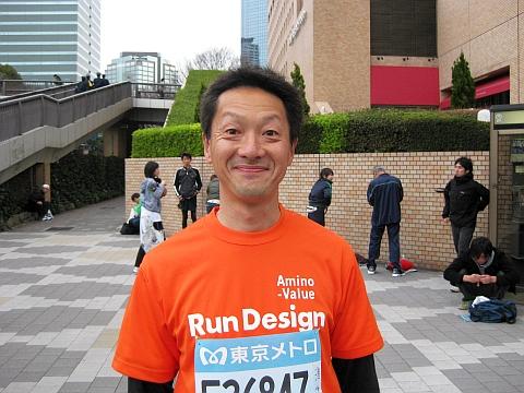東京マラソン2009_鎌田さん