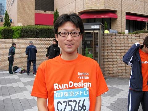 東京マラソン2009_菊池さん