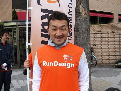 東京マラソン2009_谷口さん