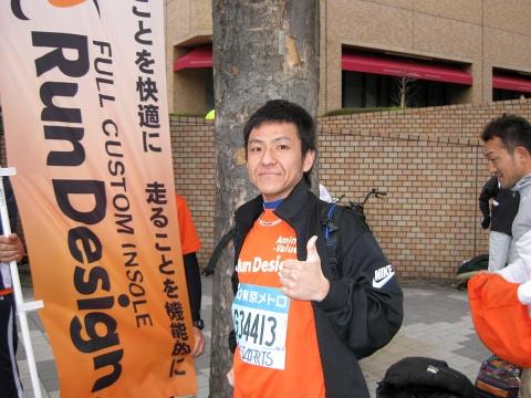 東京マラソン2009_木村さん