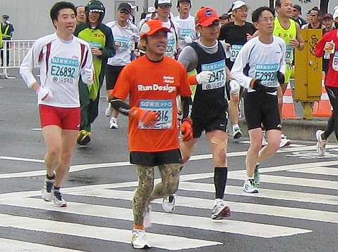 東京マラソン2009_鈴木社長01