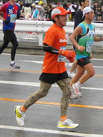 東京マラソン2009_鈴木社長02