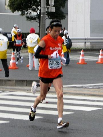 東京マラソン2009_米田さん