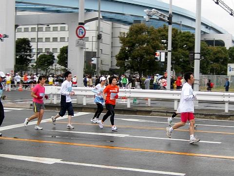東京マラソン2009_加藤店長