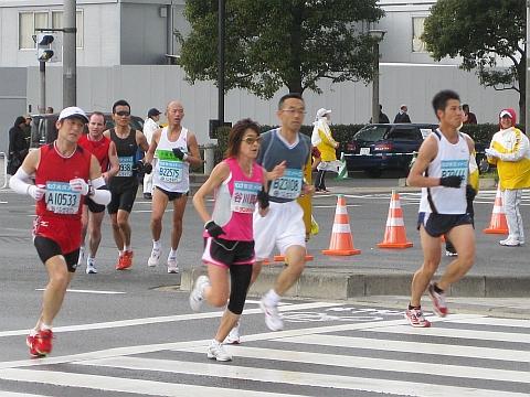 東京マラソン2009_谷川真理さん