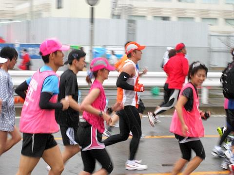 東京マラソン2009_安田美沙子さん